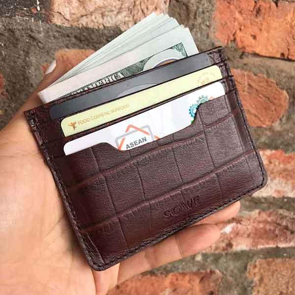 Ví da mini đựng thẻ N2 Cardholder leather
